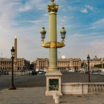 Paris | Place de la Concorde | Laterne